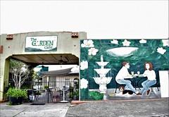 Garden Cafe Wall Art Edit (cap8398) Tags: gardencafe cafe wallart art streetart downtown