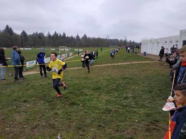 Championnat Régional de Cross Sport Adapté - zone Auvergne-Rhône - Saint-Paul-de-Varacx (01) - 12 janvier 2019