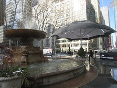 2019 Big Umbrella Academy in Bryant Park NYC 1332 (Brechtbug) Tags: big umbrella bryant park nyc 2019 february 02132019 new york city 6th avenue near 42nd st behind public library midtown manhattan the academy netflix tv series comic book based starting friday 15th bumbershoot umbrellas
