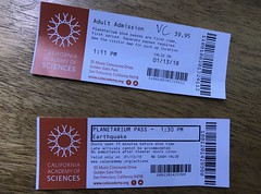 #CaliforniaAcademyofSciences (Σταύρος) Tags: planetariumpass two vc aquarium researchinstitute planetarium naturalhistorymuseum myticket 3995 twotickets priceofadmission adulttickets adultticket sanfrancisco goldengatepark californiaacademyofsciences sf city sfist thecity санфранциско sãofrancisco saofrancisco サンフランシスコ 샌프란시스코 聖弗朗西斯科 سانفرانسيسكو iminyuziyamu amgueddfa museo музей museu 박물관 博物館 músaem halehōʻikeʻike μουσείο musée muzej թանգարան متحف