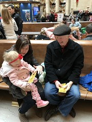 "Dani with Grandma and Grandpa Miller at Union Station • <a style=""font-size:0.8em;"" href=""http://www.flickr.com/photos/109120354@N07/46389537822/"" target=""_blank"">View on Flickr</a>"