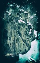Rocky (Crusty Da Klown) Tags: rocky rock holes wilderness bc canada canon expired kodak film winter snow