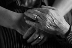 The hands of my father on his 78th birthday (Wil James) Tags: father hands sonyilca99m2 zeiss kawarthalakesphotographer dad hardworkinghands 50mm blackandwhite bw parents bokeh