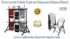 Two Level Chair Cart at Chiavari Chairs Direct (chiavarichairca) Tags: chiavari chairs larry hoffman chair folding california direct