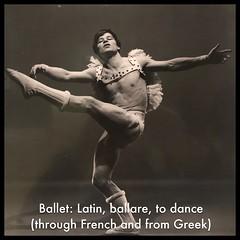 Ballet: Latin, ballare, to dance (through French and from Greek) (Thomas Talboy) Tags: latin newfields george platt lynes ballet dancer babilee ballerino male