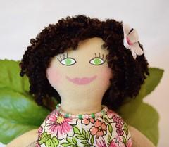 Garden Fairy Doll With Butterfly (joellesdolls) Tags: fairydoll fairies faerie gardenfairy artdoll toydoll toysforkids toysforadults handmadedoll joellesdolls