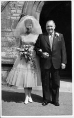 IMG_0046 Roy Spafford and Veda Wedding Scawby Parish Church of Saint Hybald's Gilbert Togood 20th June 1959 (photographer695) Tags: roy veda wedding scawby parish church saint hybalds spafford gilbert togood 20th june 1959