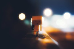 A little walk (mawestbohl) Tags: bokeh farbe color licht drausen nacht 7artisans outdoor danboard danbo backlight night vintage 50mm a7rmii 2 r 7 alpha sony