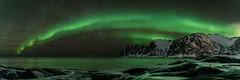 20190130-150-Panorama (emmanuelbernard1) Tags: panorama dents diable devil teeth aurora borealis aurore boréale northern light senja norway norvège