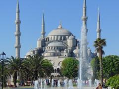 Istanbul (Eunus El Ya) Tags: turkey istanbul mosque blue sultan ahmed ottoman empire islam turkish azan tower muezzin minaret dome