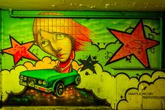Mural garaje (Garimba Rekords) Tags: mural murales arteurbano vitoria gasteiz vitoriagasteiz eh euskadi euskalherria basque country pais vasco araba álava garaje
