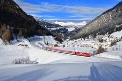 """1216 015 """"ÖBB"""" St. Jodok (Matthias Greinwald) Tags: öbb österreichische bahn bundesbahn brenner brennero taurus 1216 015 rex"""
