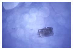 Troms, part 4: The whiteout (1996) (phamnes) Tags: whiteout blizzard snow nikoncoolscanved 135film 35mm military winter fujichrome colorfilm slidefilm 100rd fujifilm olympusmju mjuii mju olympus