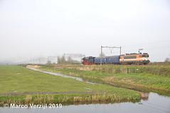 RXP loc 9901+ Dm + SSN loc 23 023 tr 70451(Gd-Rtng) Nieuwerkerk aan den IJssel 06-04-2019 (Marco Verzijl) Tags: ssn rxp 9901 railexperts stoomstichtingnederland dm 23023 revisie proefrit 70451 rtng
