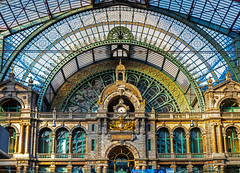 Antwerpen-Centraal (Christy Turner Photography) Tags: antwerpen trainstation trains travel belgium antwerp europe