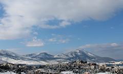 My view (Argyro Poursanidou) Tags: landscape snow mountain sky cloud nature greece chalkida chalcis