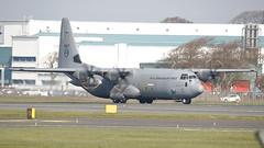 5607 (Rob390029) Tags: royal norwegian air force lockheed c130j 5607 c130 glasgow prestwick airport pik egpj