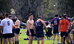 Cleveland Crusaders (Mike McCall) Tags: copyright2019mikemccall photography photo image usa culture southern america thesouth unitedstates northamerica south georgia stpatricksdayrugbytournament stpatrick day rugby tournament game sport sports field pitch football savannah chatham county documentary editorial side daffin park daffinpark parkside