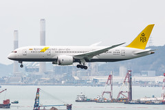 ROYAL BRUNEI AIRLINES B787-8 DREAMLINER V8-DLE 004 (A.S. Kevin N.V.M.M. Chung) Tags: aviation aircraft aeroplane airport airlines plane spotting hkg landing approach boeing b787 dreamliner b7878