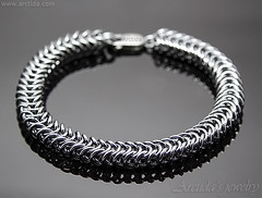 Heavy sterling silver mens bracelet massive Box Chain chainmaille bracelet for men. Mens collection by Arctida (Arctida) Tags: men bracelet jewelry jewellery chain mail link chainmaille weave sterling silver male masculine cool sexy look birthday gift him father dad boyfriend husband brother hipster guy statement homme simple modern minimalistic steampunk metal custom chainmail dude bohemian stuff rustic heavy piece everyday apparel wear high shine brutal brutalist shop fashion guide shopping luxury outfit tip advice unisex collection big large artwork wedding accessory accessories viking ancient mid century southwestern tribal line neutral trend