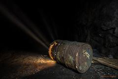 Toxic light (MIKAEL82KARLSSON) Tags: rost rust rusty tunna dark darkness light sverige sweden sony sigma 20mm old övergivet öde övergiven mikael82karlsson mine minearea minesite ue urbanexplorer underground underjord urban utfrakt utlastningtunnel dalarna decay abandoned