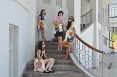 Hagara's bags (Asaf Sagi) Tags: fashion people girl woman street telaviv