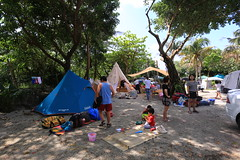 IMG_7355 (諾雅爾菲) Tags: taiwan camping 台灣 墾丁 露營 香蕉灣原始林露營區 熊帳 coleman 印地安帳