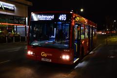 Go-Ahead London SOE20 on Route 493, Wimbledon Stadium (e400olympus) Tags: goahead london soe20 493 wimbledon optare esteem enviro 200 e200 adl lx09azc