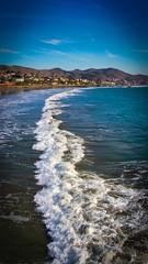 Wave at Cayucos (CDay DaytimeStudios w /1 Million views) Tags: beach ca california cayucos coastline highway1 landscape ocean pacificcoast pacificcoasthighway pacificocean sunset water wave
