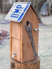 PC160020 (bvriesem) Tags: bird house birdhouse craft wood carpentry