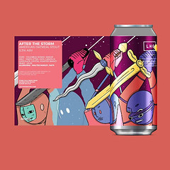 Left Handed Giant (UK) x Burnt Mill (UK) - After the Storm // Stout // 8.3% (International Beer News) Tags: beer beers craft craftbeer beerme beerporn beernews beerelease
