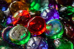 Macro Mondays Iridescent Glass (Harry McGregor) Tags: macromondays iridescentglass harrymcgregor nikon d3300 20 january 2019 sparkly shiny glassbeads gleaming lustrous colourful shimmering multicoloured picktwo