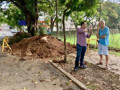 Parque Ararigboia (Moisés Barboza) Tags: obra demanda ararigboia moisesbarboza gabinete