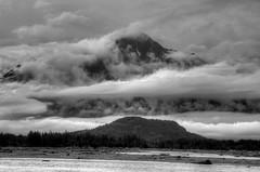 Misty Mountain Monochrome (tpeters2600) Tags: alaska canon eos7d blackandwhite monochrome landscape