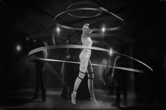 The Total Dance Theatre (elisachris) Tags: 100yearsofbauhaus 100jahrebauhaus baushaus adk berlin kunst art ausstellung schwarzweis blackandwhite virtualreality dark ricohgr