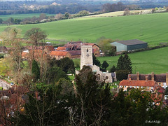 Settlement (mark.griffin52) Tags: olympusem5 england hertfordshire aldbury farm rural countryside church village landscape