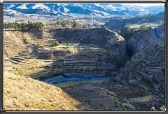 Anfiteatro OCCOLLI en Inicio del Valle del Colca (Fotocruzm) Tags: anfiteatro occolli anfiteatrooccolli fotocruzm mcruzmatia valledelcolca perú inca coporaque maca cuzco cusco shininea yanque quechua