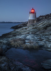 winter at Castle Hill (marion faria) Tags: newport rhodeisland castlehill lighthouse seascape usa
