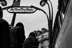 Let's get out of here (.KiLTRo.) Tags: kiltro fr france paris louvre rivoli street metropolitan subway stair city urban people art artnouveau
