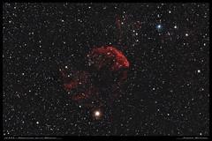 IC443 - Nébuleuse de la Méduse (5h15) (Adrien Witczak) Tags: adrienwitczak astrophotographie astrophotography astronomie astronomy nébuleuse méduse cielprofond deepspace espace canon1000ddefiltre astrometrydotnet:id=nova3196468 astrometrydotnet:status=solved