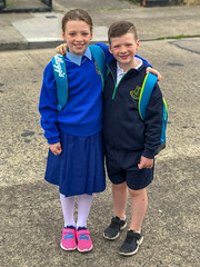 Back to School 2018-6 (romoophotos) Tags: 2018 cian cianmooney back eabha school éabhamooney sundriveroad dublin ireland ie