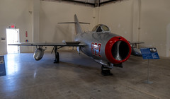 Mikoyan-Gurevich MiG-15bis (LIM-2) 'Fagot' (Serendigity) Tags: arizona fagot lim2 mig15bis mikoyangurevich pimaairspacemuseum russian tucson usa unitedstates aircraft aviation hangar indoors jet museum unitedstatesofamerica