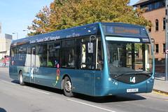10643 20180929 Trent YJ12 GWU (CWG43) Tags: bus uk trent trentbarton optare x1200sr yj12gwu tempo