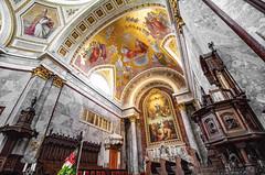 Esztergom Basilica (werner boehm *) Tags: esztergombasilica ungarn hungary wernerboehm architecture interior kirche