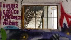 Ouvrez des écoles (ostplp) Tags: tag usine decay abandonné industrie industriel friche urbex exploration train route arbre graffiti feuilles