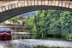 Tranquil.. (scrapping61) Tags: scrapping61 2014 unitedkingdom bath riveravon boat river