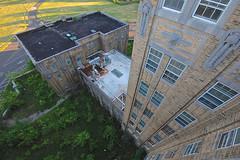 Turtle Neck (jgurbisz) Tags: jgurbisz vacantnewjerseycom abandoned nj newjersey essexcountyisolationhospital asylumhospital rooftop isolation hospital essex