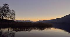 Le Lac de Lamartine s'endort        2 (Evim@ge) Tags: landscape outside extérieur savoie lacdubourget lake bleu blue water eau paysage