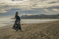 Fotos para Esther #6 (Héctor Rodríguez Maciá) Tags: sanjuan alicante españa spain playa mar costa arena mediterráneo embarazo embarazada