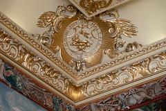 Garter cornice | Blenheim Palace | Feb 2019-25 (Paul Dykes) Tags: woodstock england unitedkingdom gb uk blenheimpalace johnvanbrugh englishbaroque duke marlborough churchill
